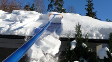 How To Make A Roof Rake For Snow Removal?